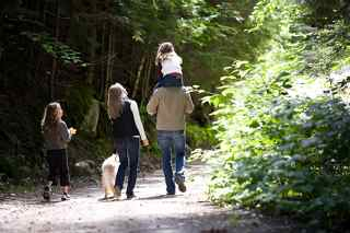 Family nature walk