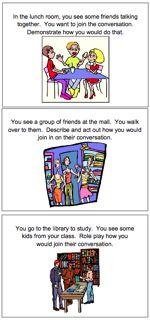 Social Skills Flashcards