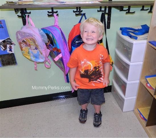 First day of Preschool 2012