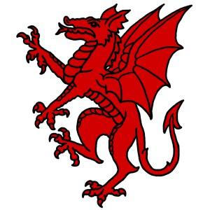 Red Dragon Crest