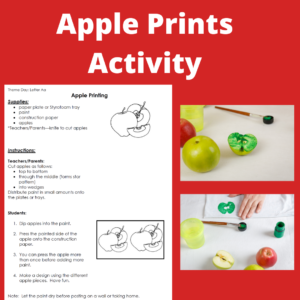 A is for Apple! 6