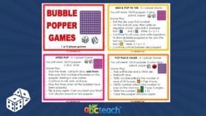 Bubble Popper Activities 5